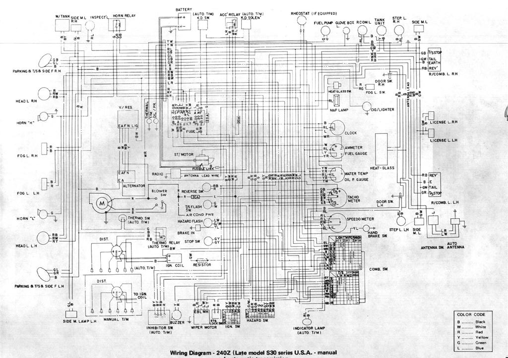 Diagram    or    Schematic    for 1971    240Z       Open S30 Z Discussions  The Classic Zcar Club
