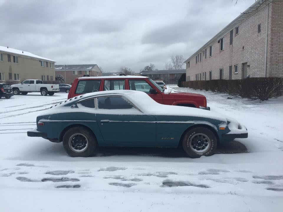 Passed A Z On A Trailer In Se Michigan Today Open Chit Chat The Classic Zcar Club