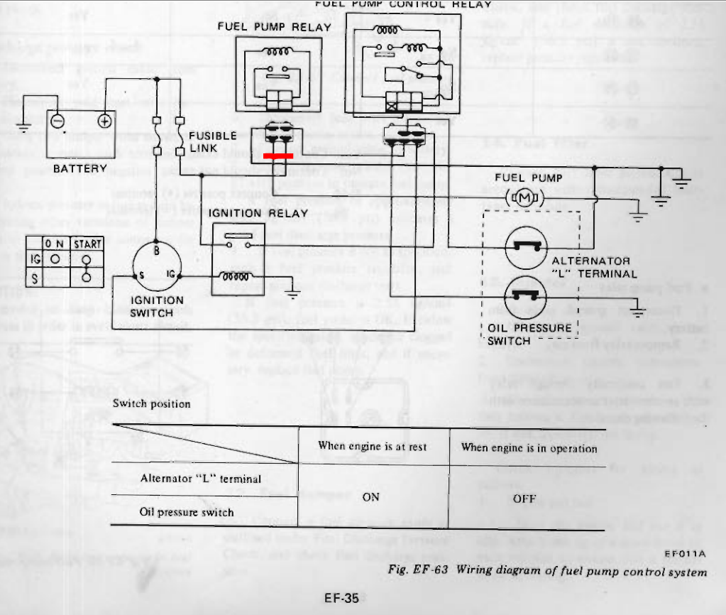 77 280z Fuel Pump Relay Wiring Diagram Guide And Troubleshooting 1978 Dodge Harness Z Control Injection The Classic Zcar Rh Classiczcars Com