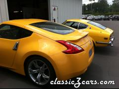 370z and 240z in Yellow