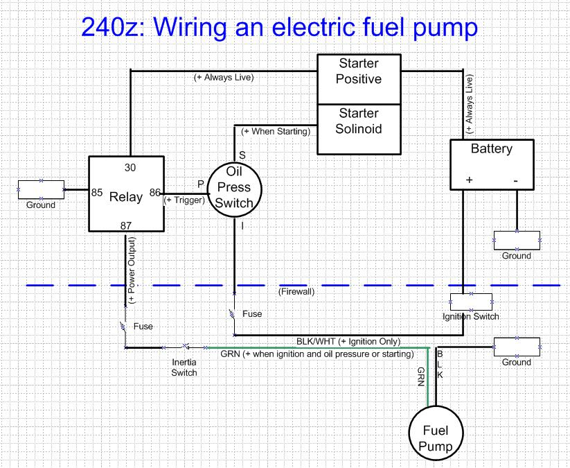 Wiring An Electric Fuel Pump - Wiring Diagram