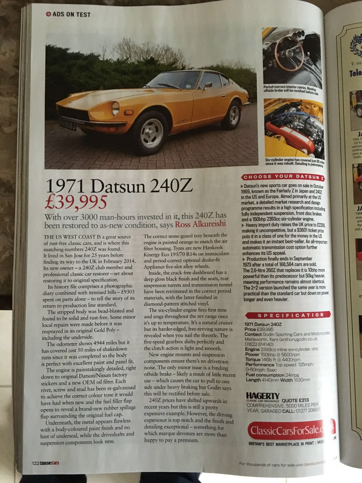 Official 240Z, 260Z, 280Z Car Value Thread! - Open S30 Z Discussions ...