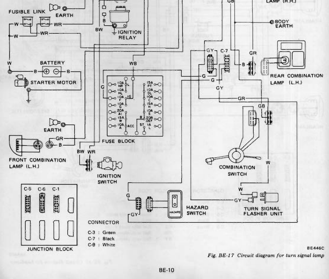 260z Wiring Diagram Manual Of Fuse 1978 Datsun 280z 31 Images