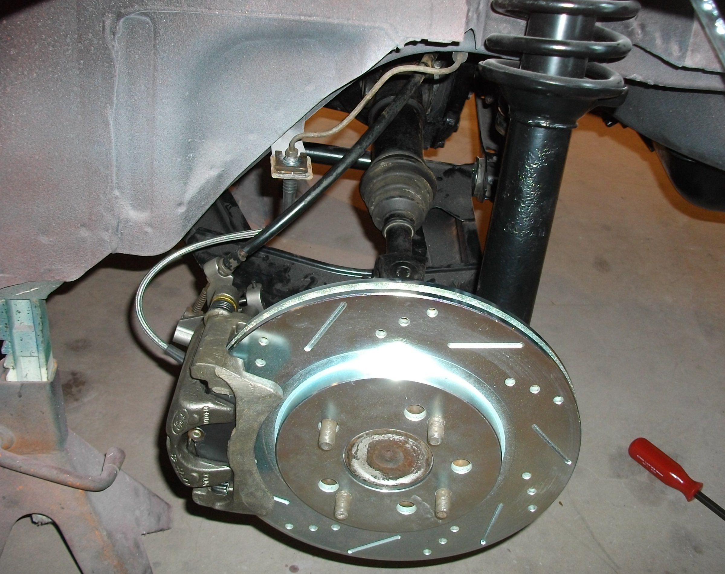 rear disc brake conversion - Wheels, Tires and Brakes - The Classic
