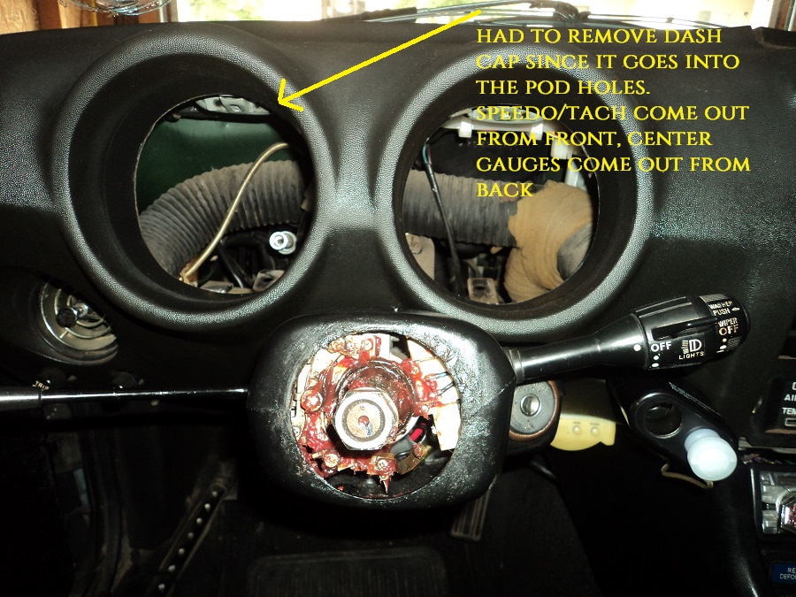 Removed Gauges Successfully - Interior - The Classic Zcar Club