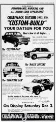 Chilliwack Datsun Newspaper Ads