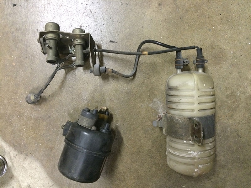 280Z To 280Zx A/c Upgrade(Vacuum Tank Swap) - Heat & Air
