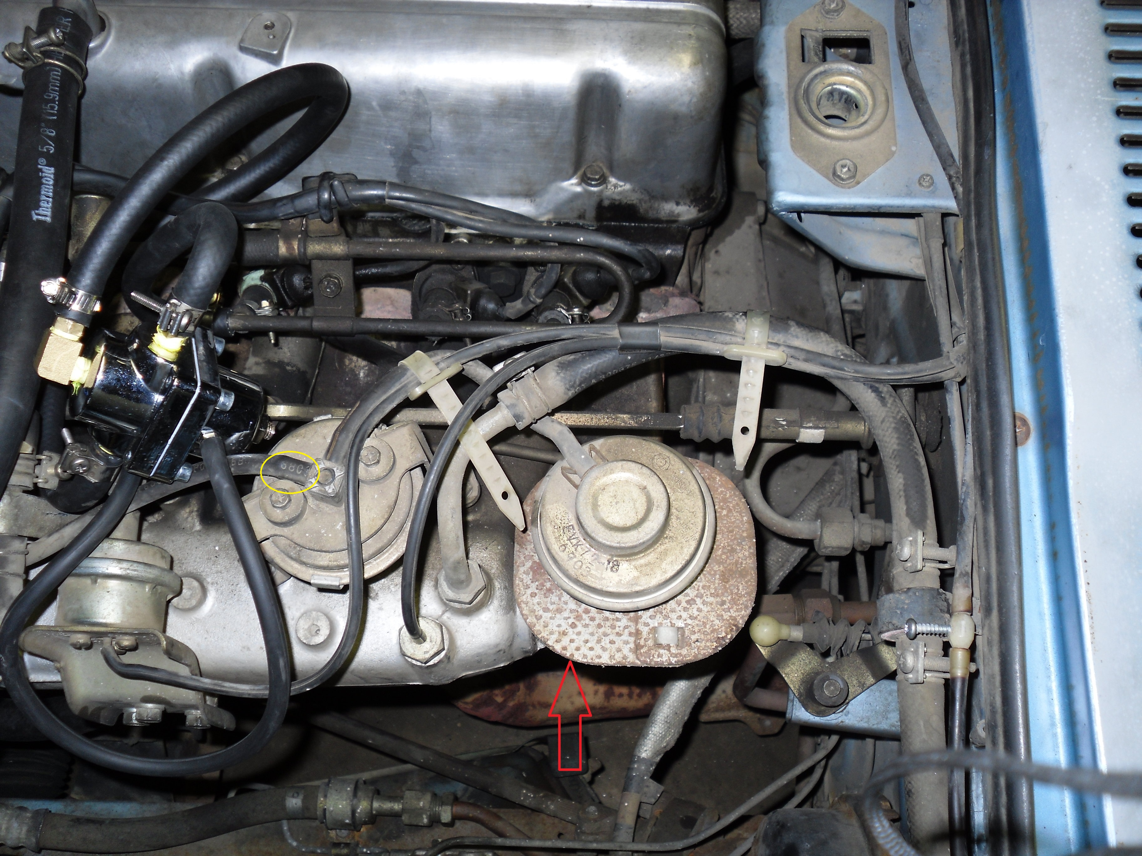 Egr Delete 1980 Zx N A Engine And Drivetrain The