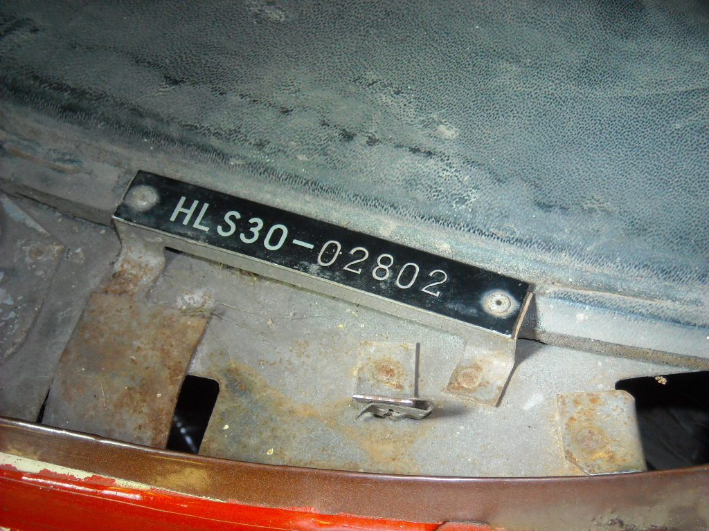 240z dashboard vin tag - Wanted - The Classic Zcar Club