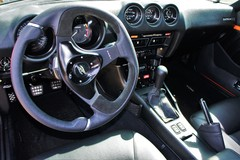 Interior, Momo Nero wheel, short shifter, power window switches