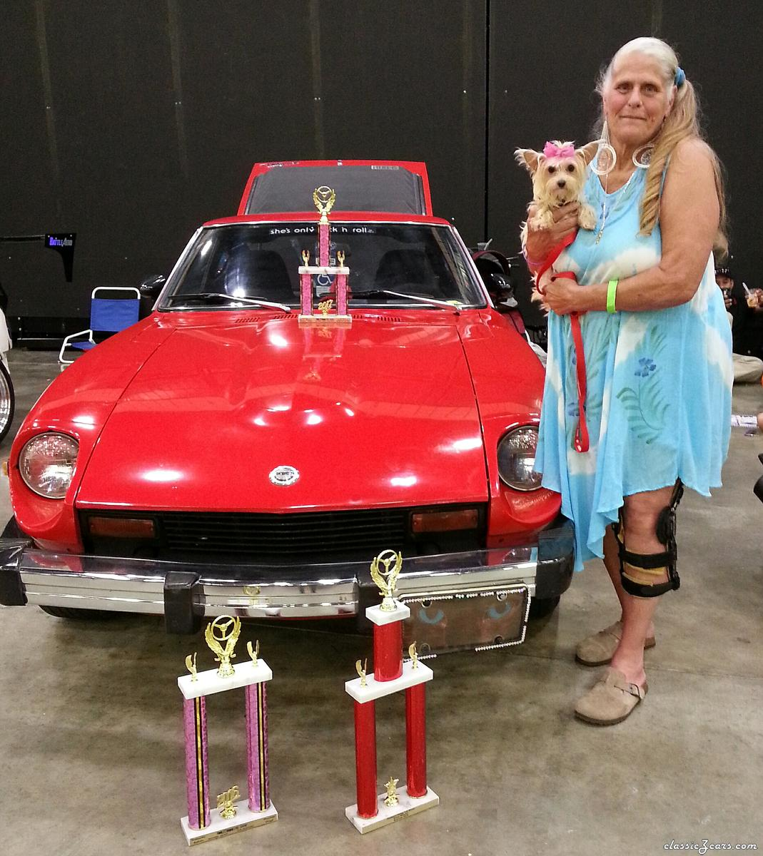 "8/5 Dalton, Ga.  ""Time to Shine"" car show winning a second prize"