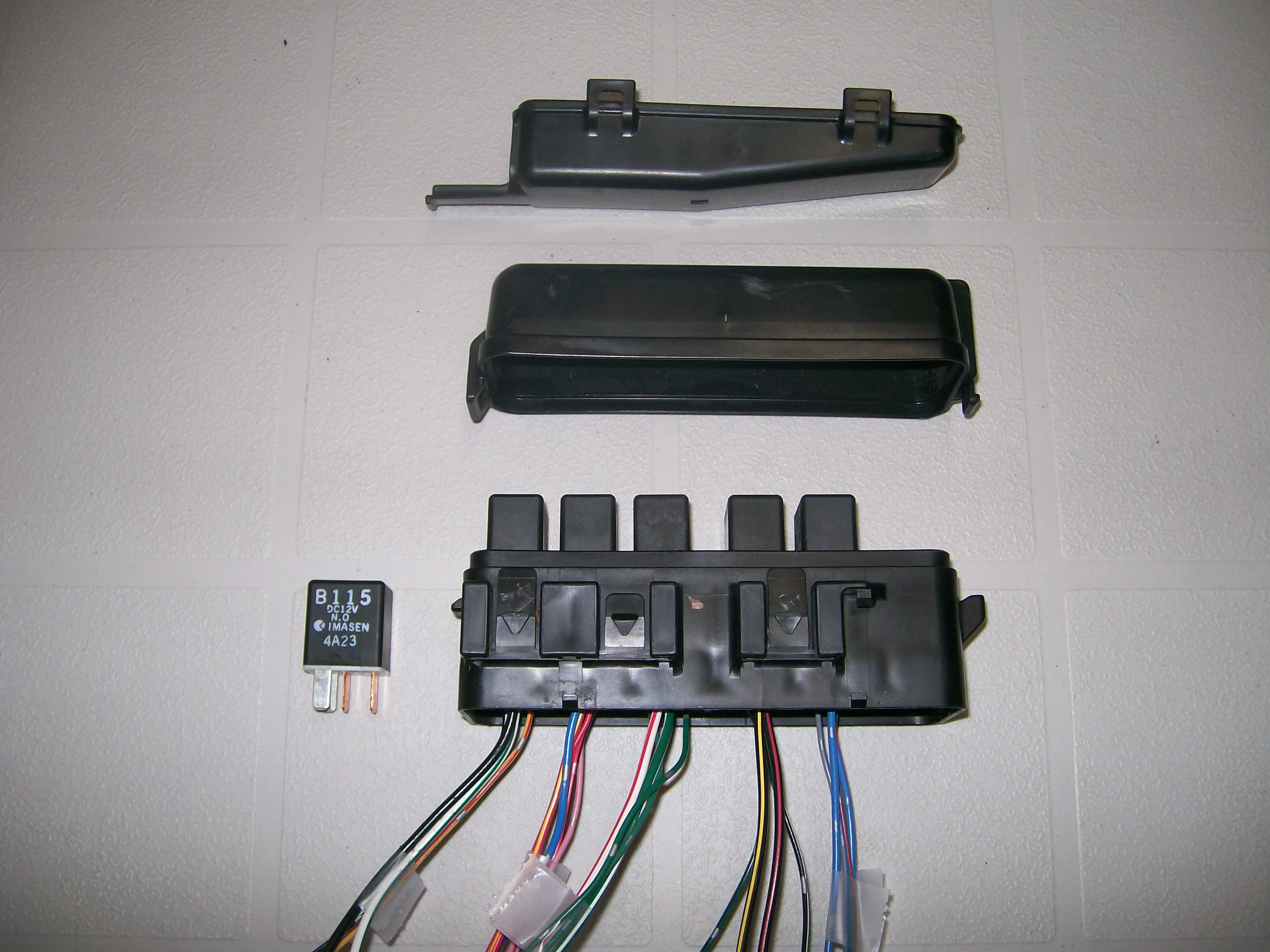 Relay Mounting Locations Firewall Under Dashboard Electrical Waterproof Fuse Box 102 2970