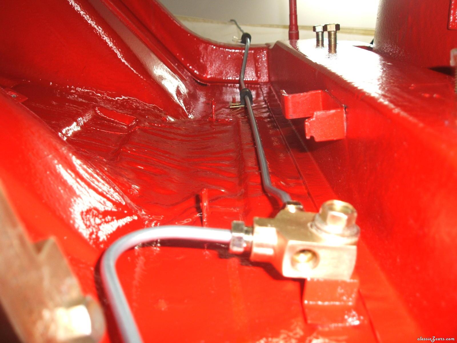 Rear Brake Splitter