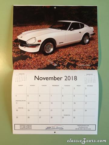 Miss November 2018-Z Car Source.Com