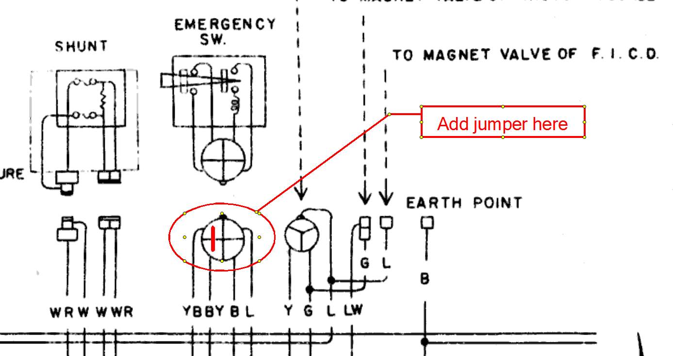 260z Interlock Tsb Electrical The Classic Zcar Club Wiring Diagram Jumper 1 2