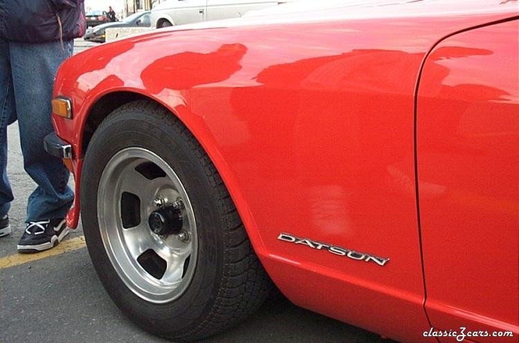 Front fender-wheel