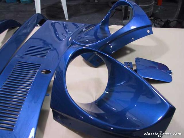 Electron Blue Pearl Metallic