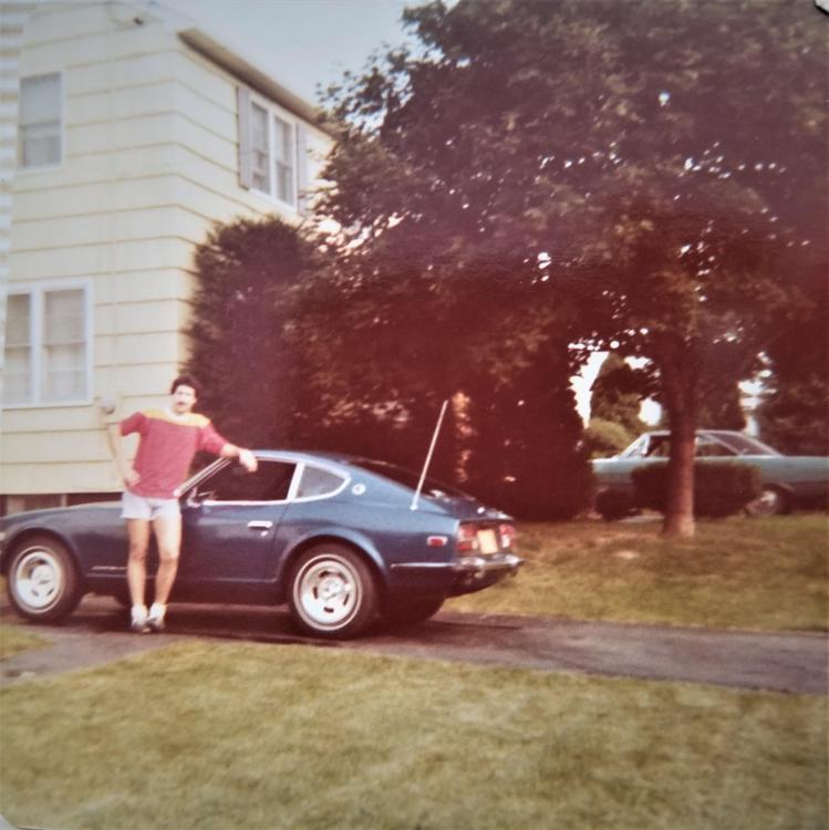 Mark & 240z in 1977 (2a).jpg