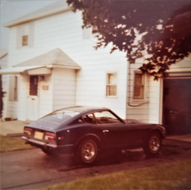 Mark & 240z in 1977 (1a).jpg