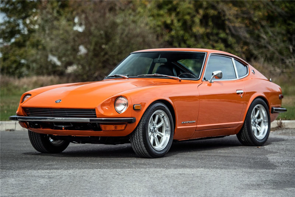 Three 240Zs Sell at Barrett-Jackson Scottsdale for Big Money