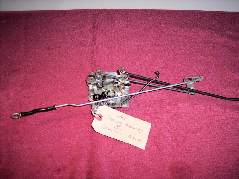 Used 240Z Door Lock Mechanism – RH