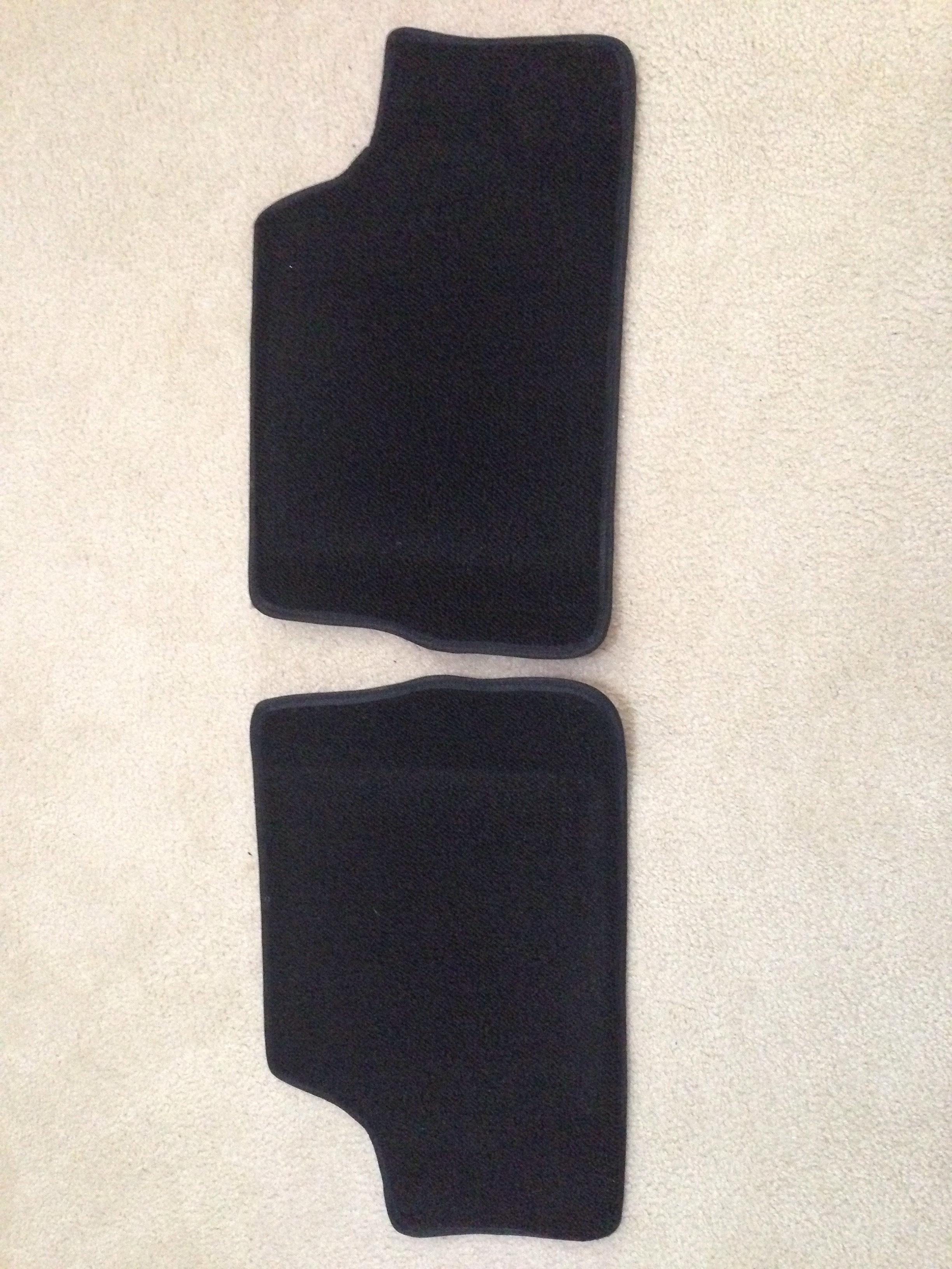 New rear carpet pieces (two) - SOLD