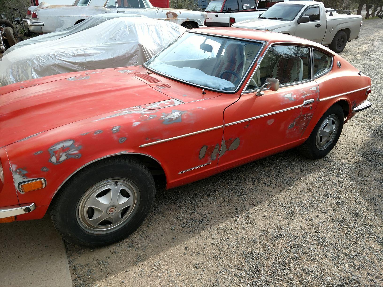 Original Rust Free 1972 240Z