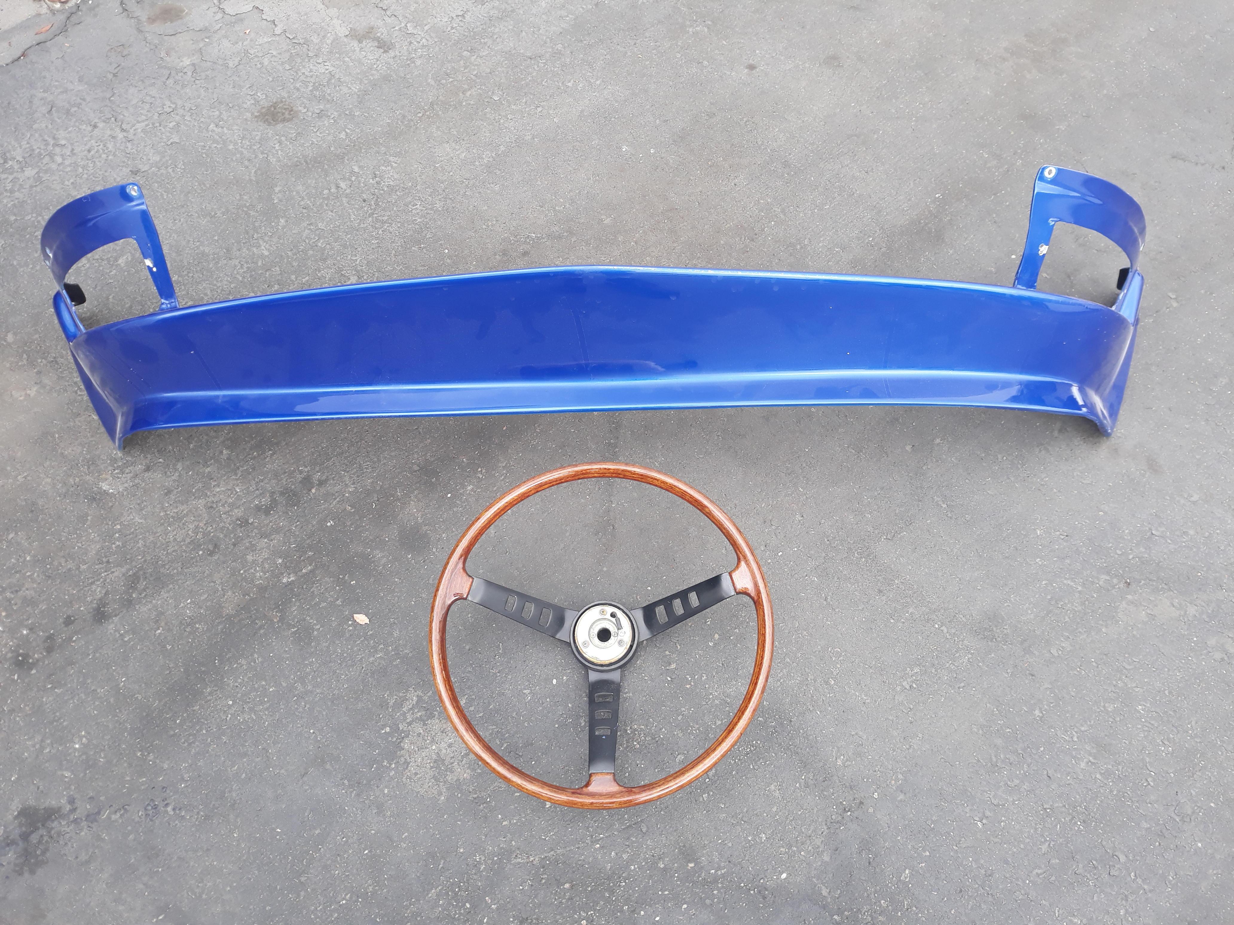 Datsun 240 Z Steering Wheel and Valance