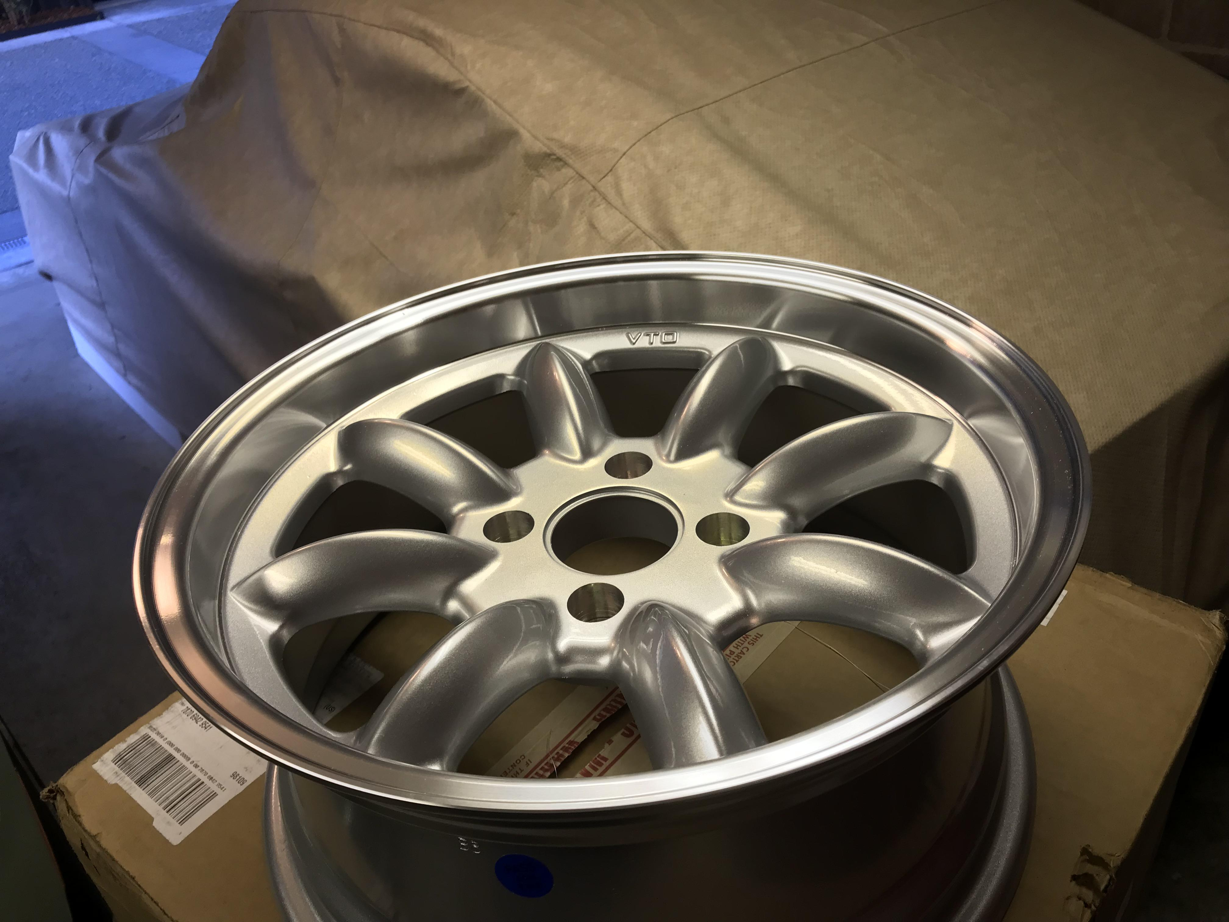Picked up a set of VTO Deep Dish 16's