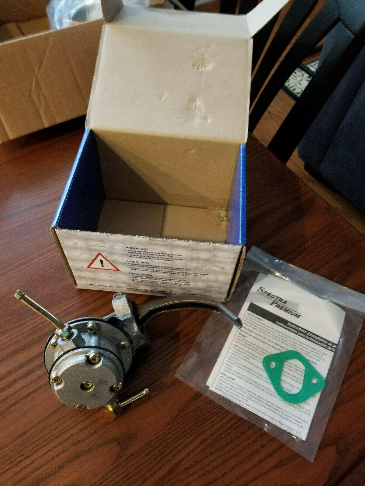 Nikki Fuel Pump Parts - Mechanical Fuel Pump Spectra SP1173MP fits 75-77 Nissan 710 2.0L-L4