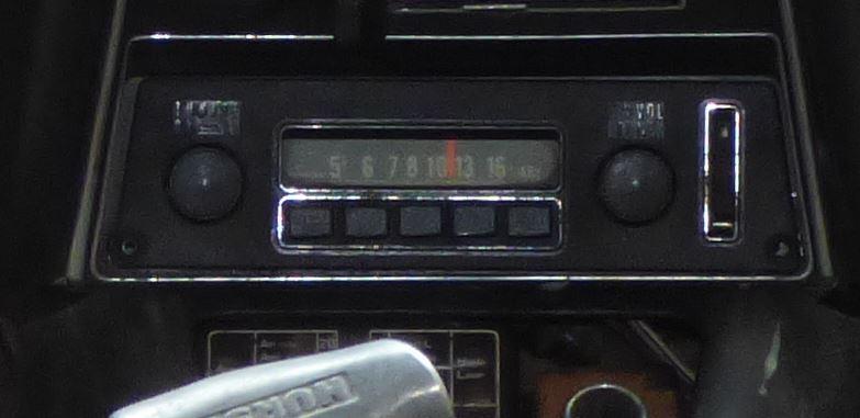 1970 240z AM Radio and Antenna Switch