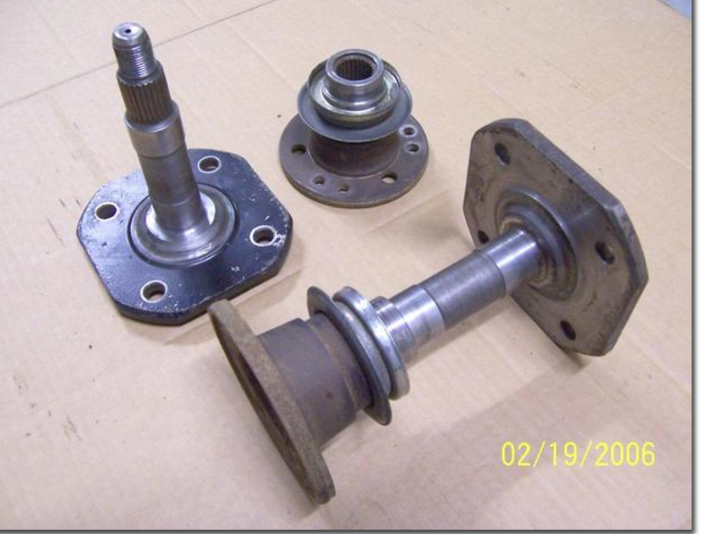 Parts needed, 280Z stub axles and companion flanges