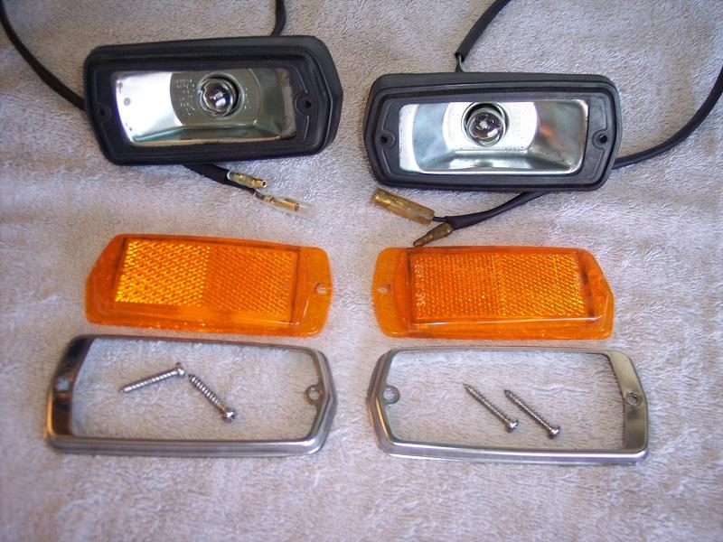 240Z Sidemarker Light Set