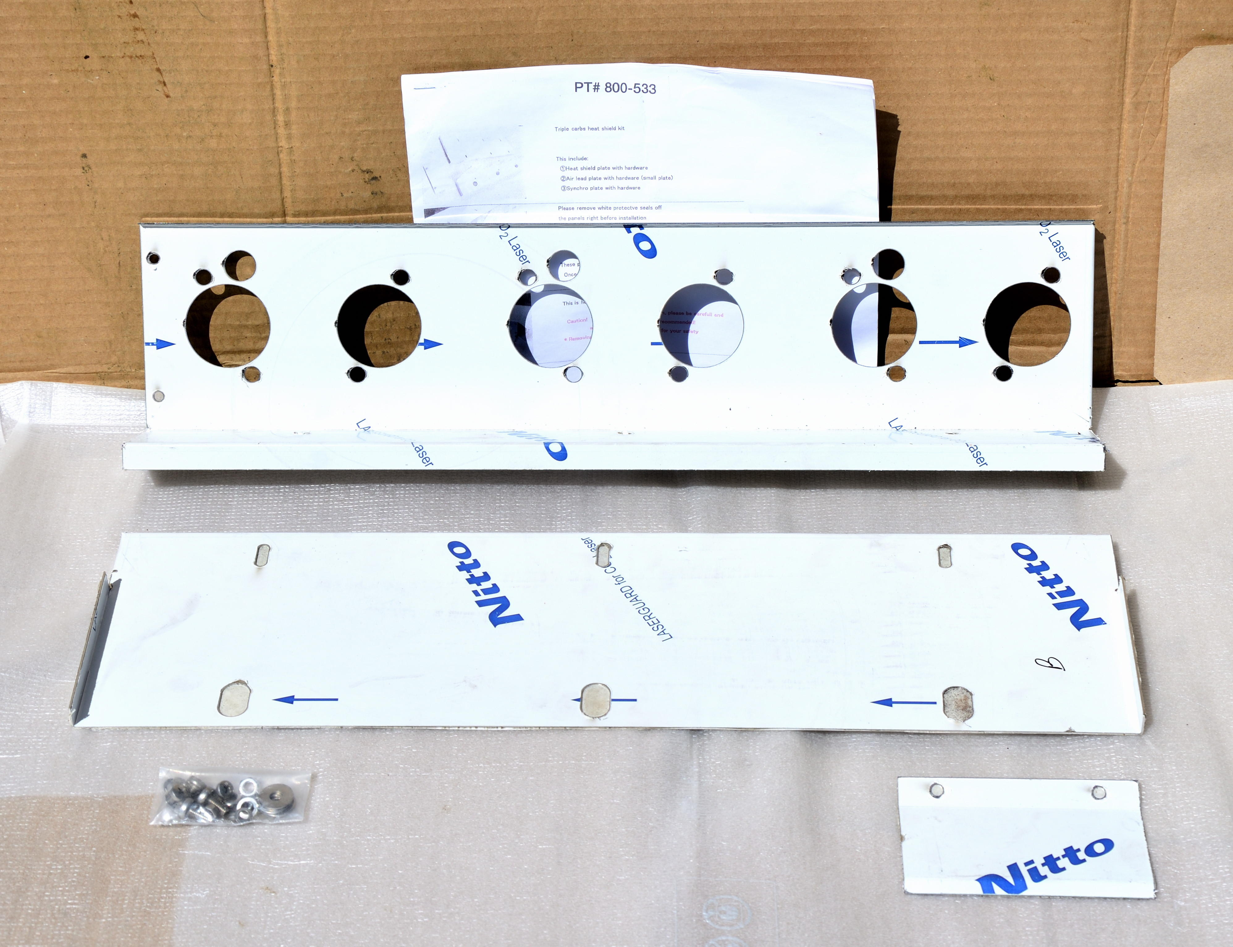 Heat Shield: Weber/Mikuni
