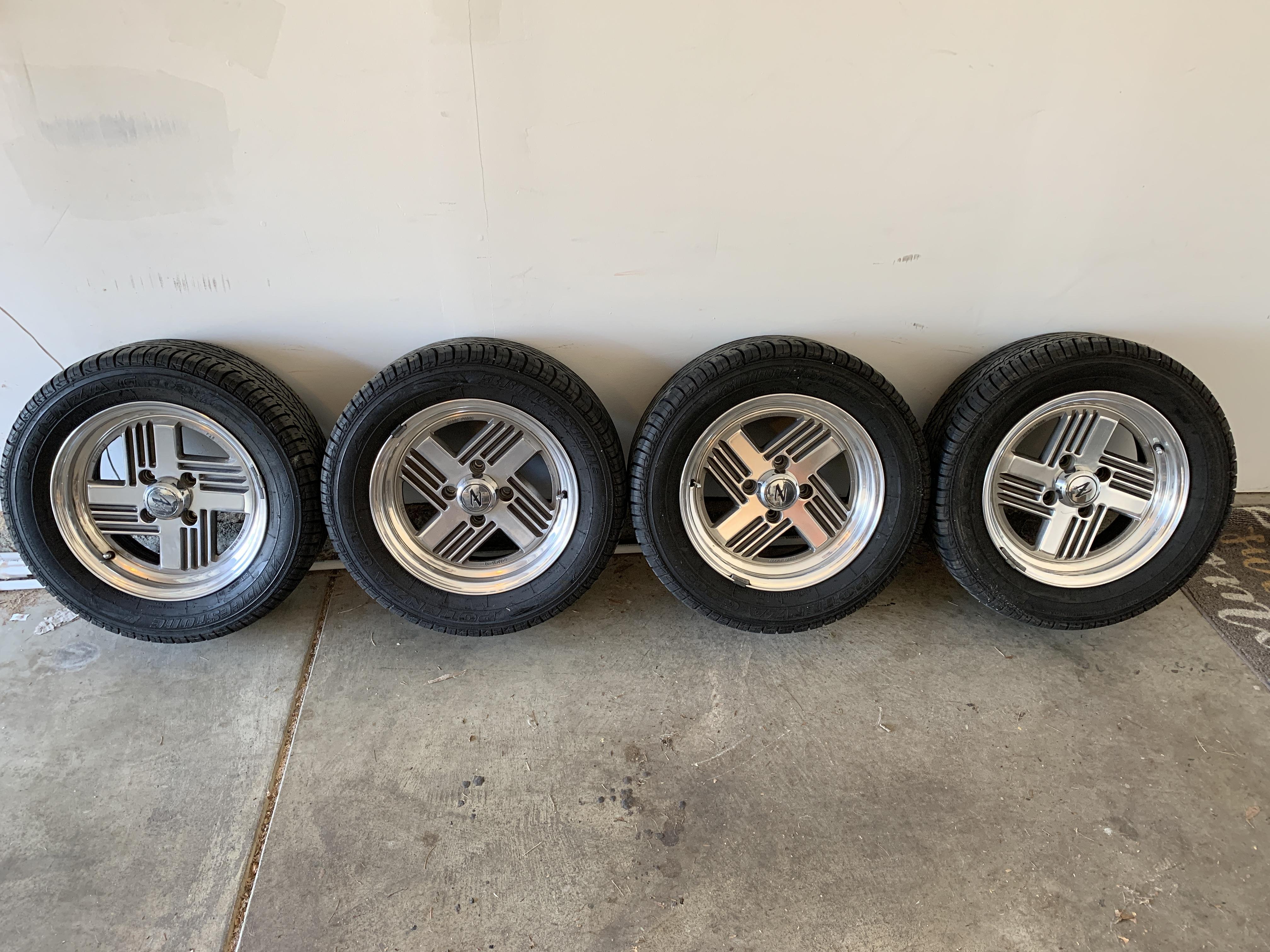280zx Polished Wheels