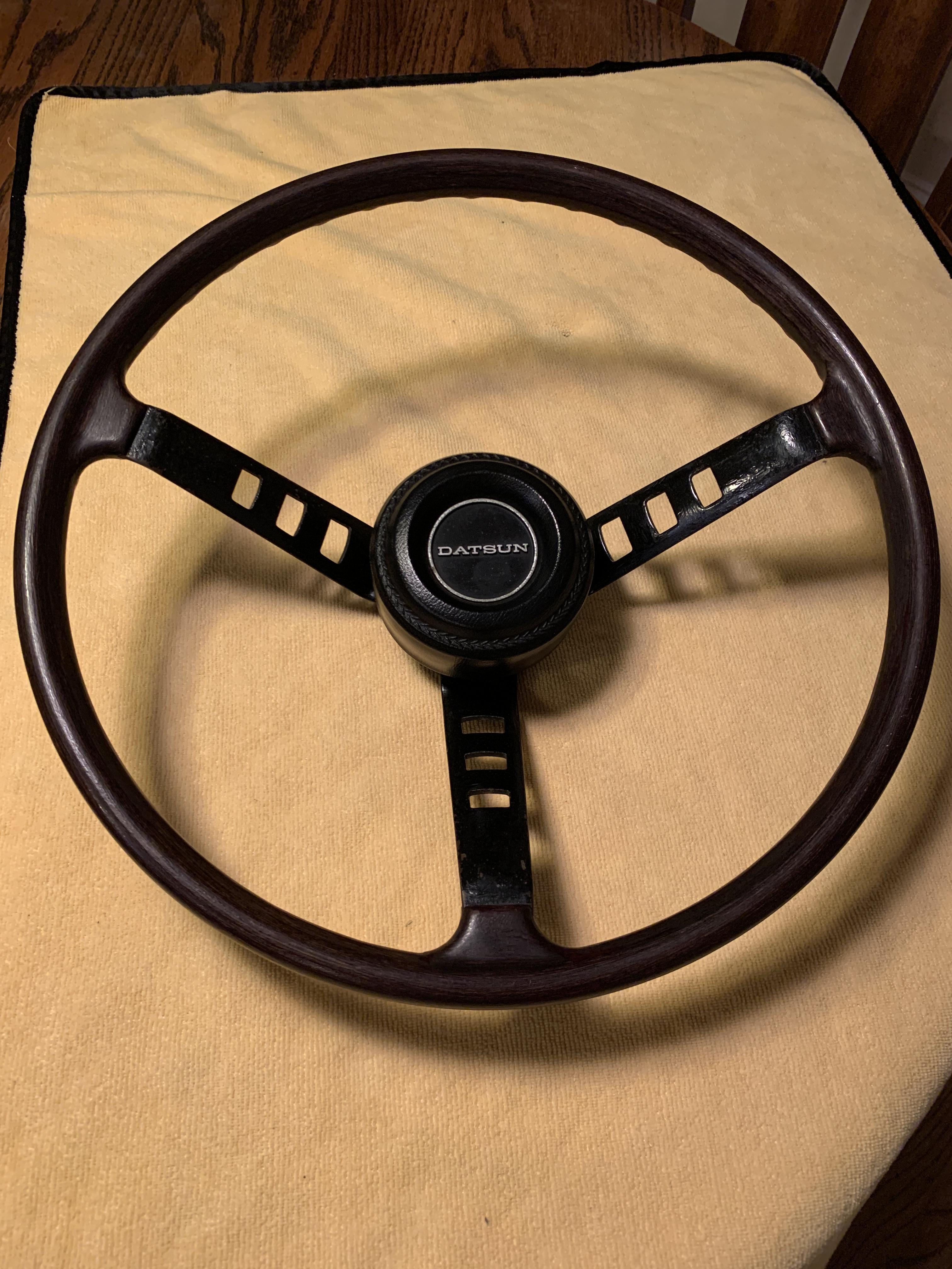 1973 240Z original steering wheel