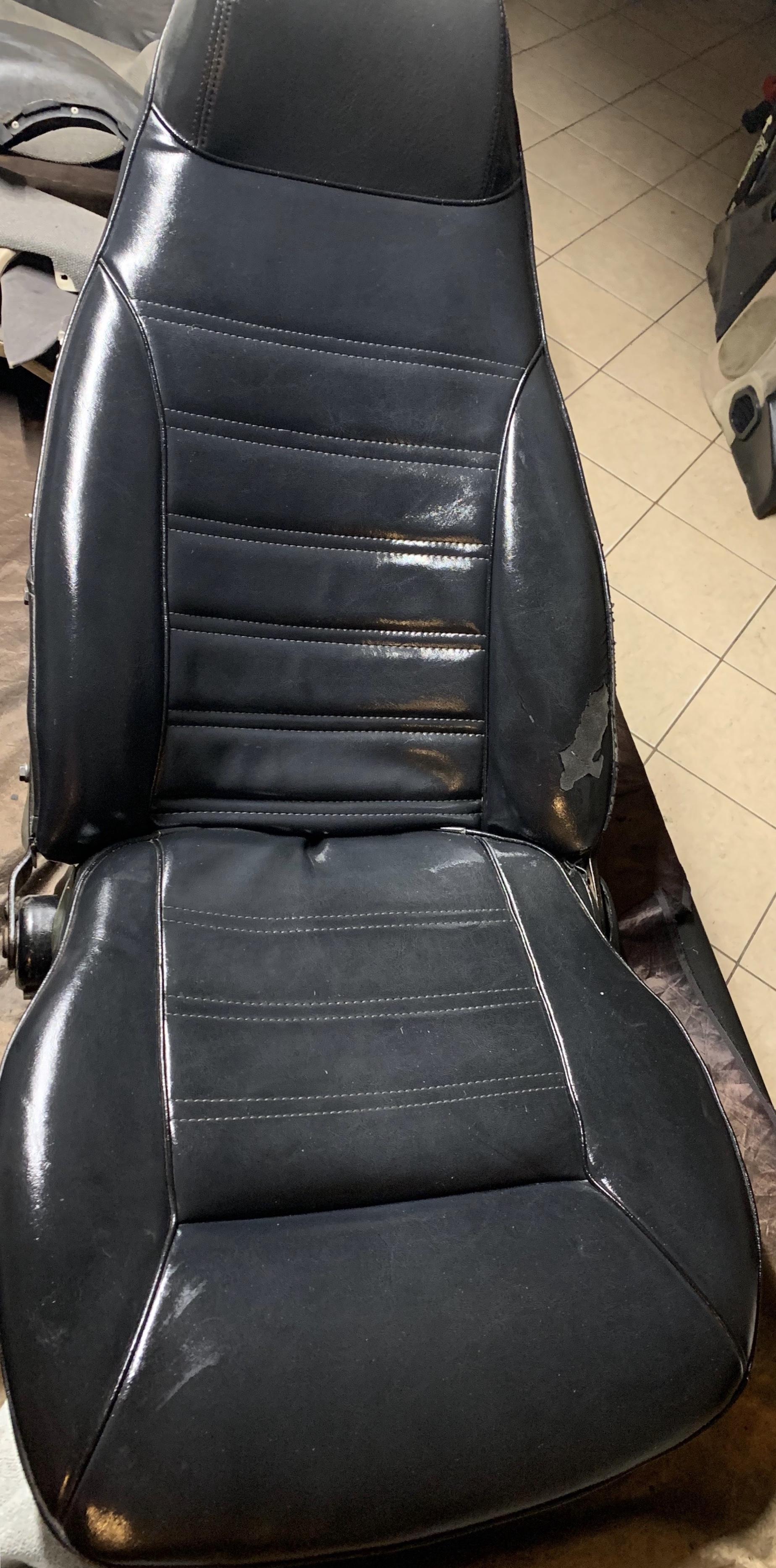 280z 76 driver seat