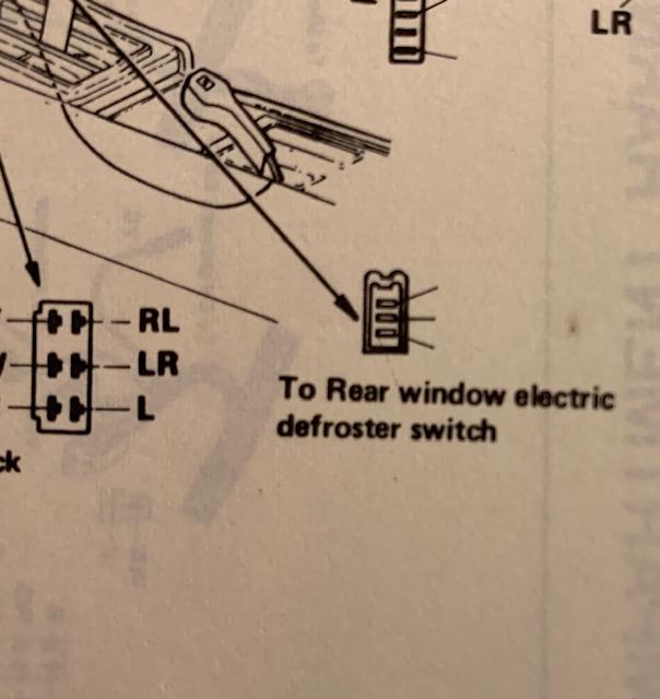 Rear window defroster wiring - Technical Articles - The Classic Zcar Club | Rear Defrost Wiring Diagram |  | Classic Z Car Club