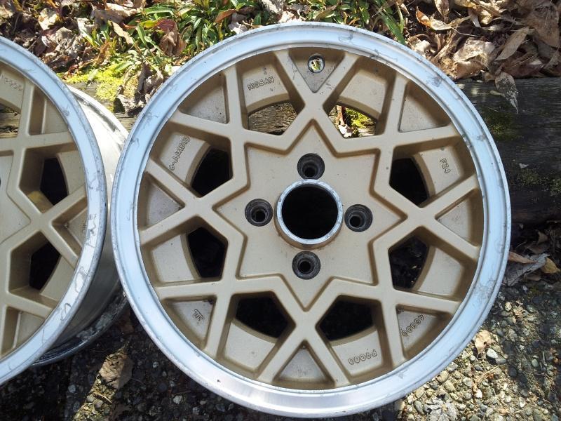 WTB 280zx turbo snowflakes set