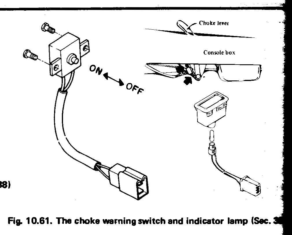 Choke switch