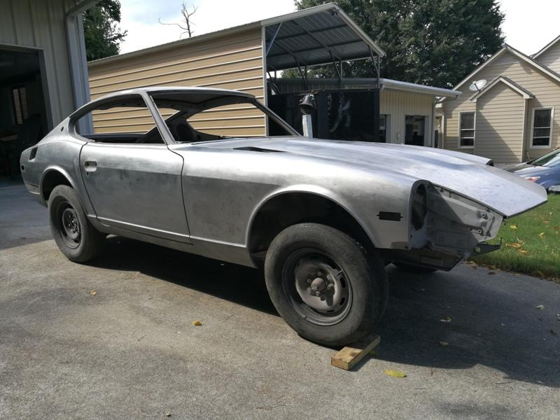 Need 240z Windshield - without blue tint