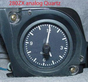 WTB analog quartz clocks