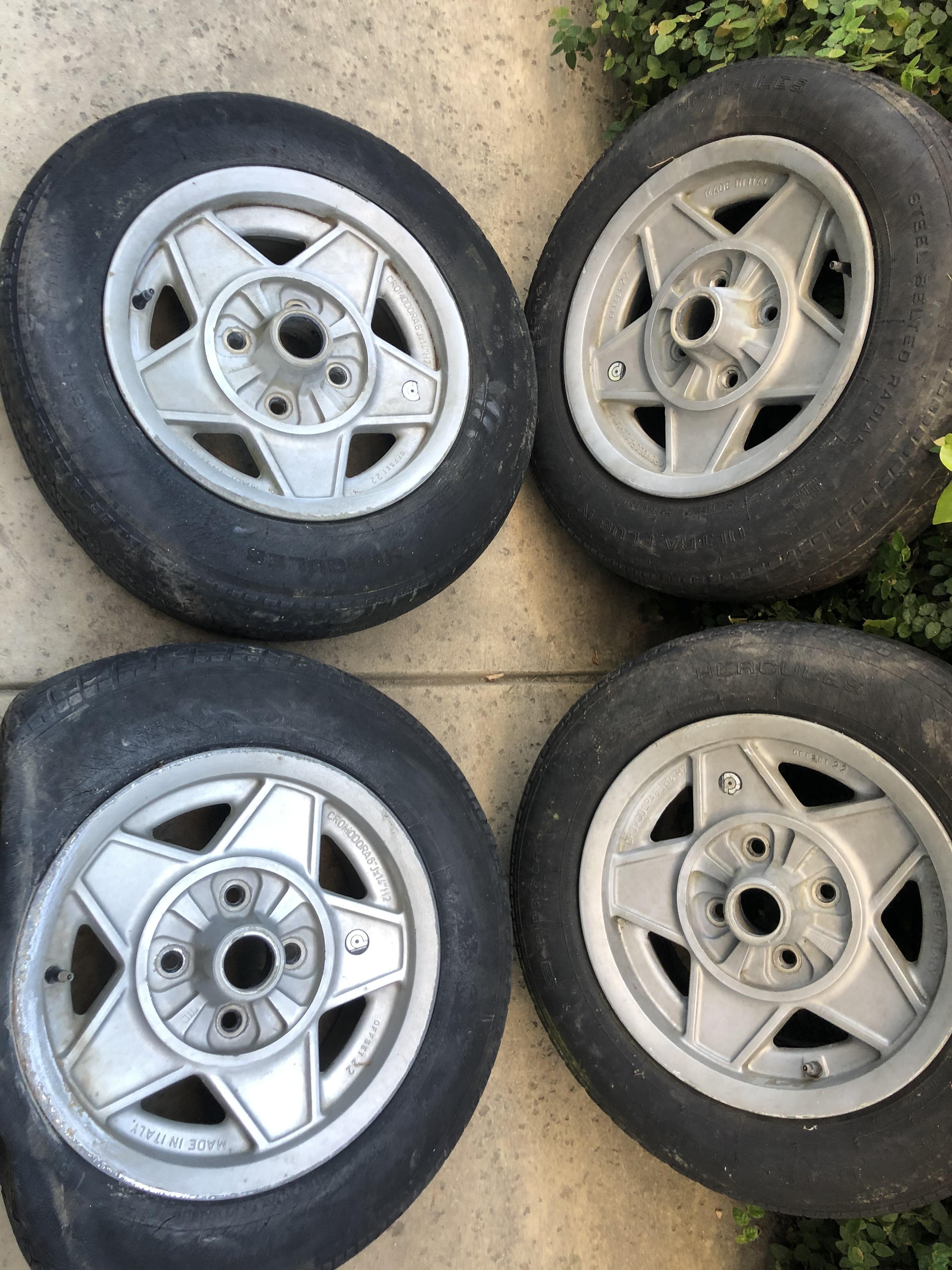 Cromodora Daytona wheels-Magnesium alloy