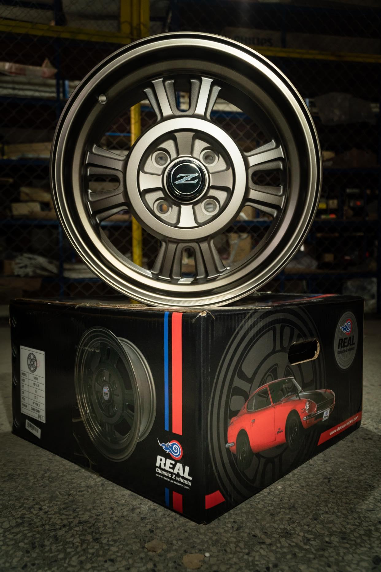 15x7 ET0 'in the style of' KS competition/works rally-mag wheels