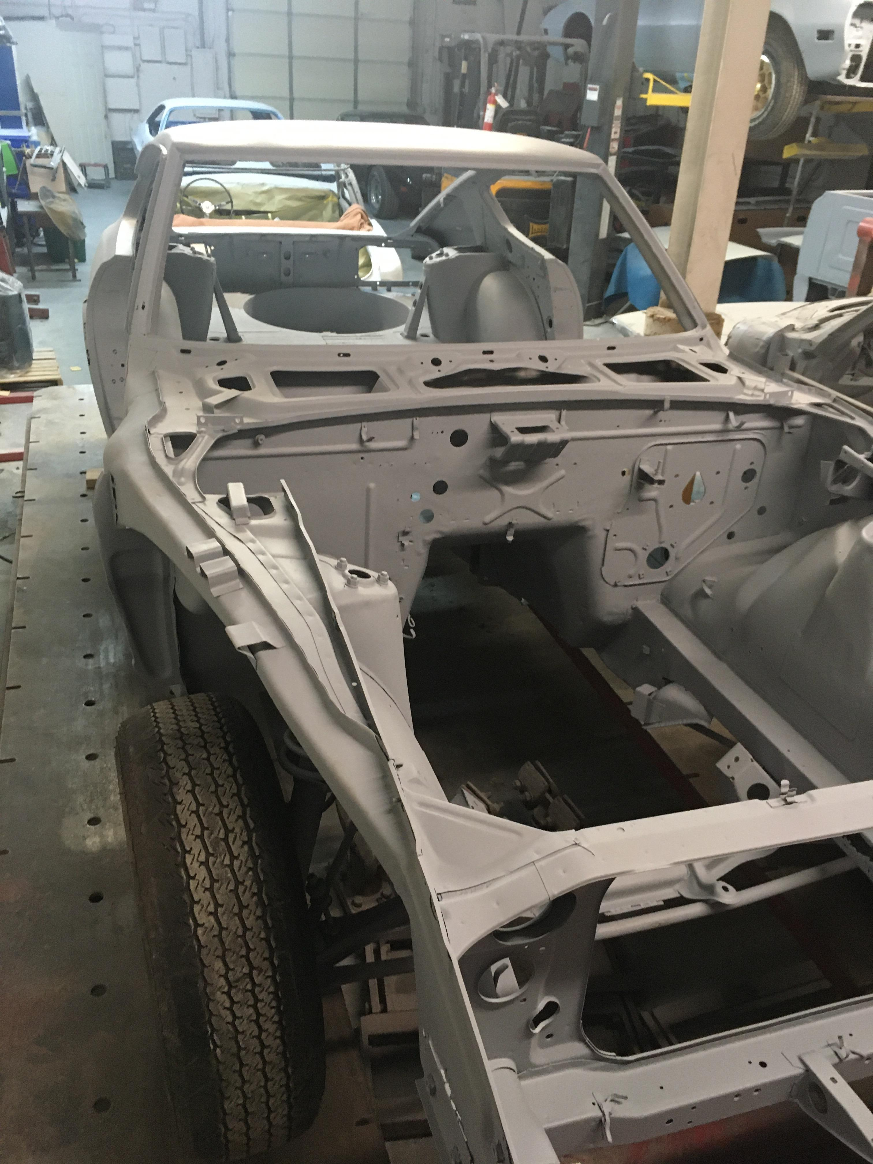 1973 240Z Project For Sale - Media blasted and ready for repair and assembly